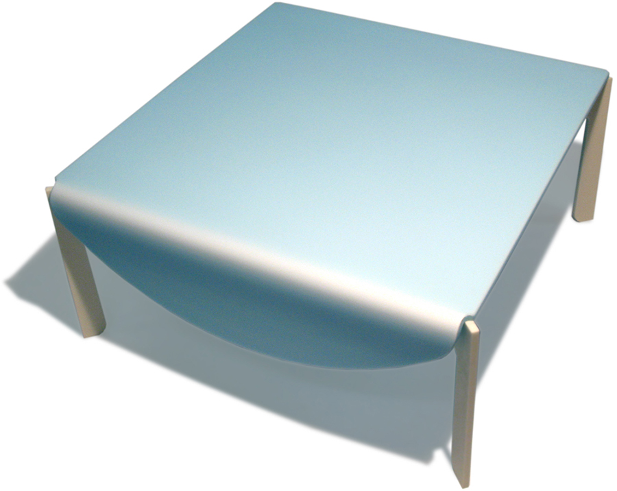Wedge Droopy Coffee Table